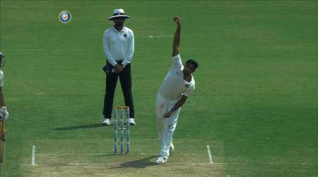 R Ashwin bowls leg-spin in Irani Cup, watch video