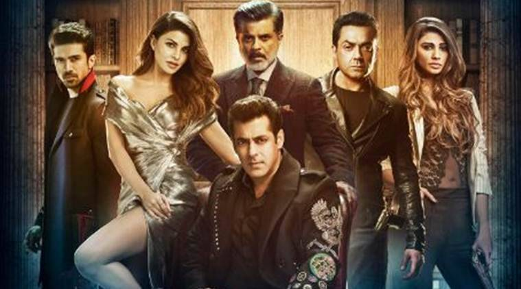 race 3 poster starring salman khan and his co-stars