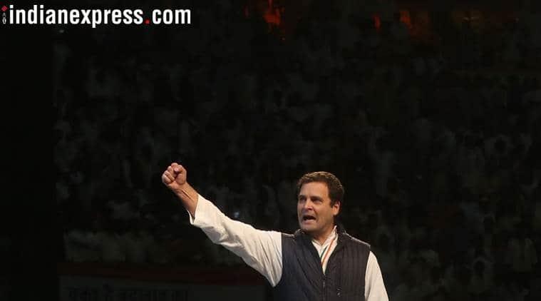 Swabhimani Shetkari Sanghatana leader meets Rahul Gandhi, hints at alliance before 2019 elections
