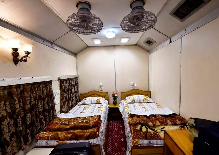 IRCTC, Railways, Luxury railway coach, IRCTC luxury coach, Railway saloons, Indian Railways, private coach, Indian Express