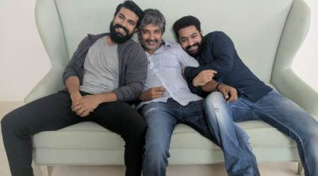 rajamouli Jr NTR and Ram Charan FILM