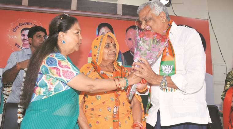 BJP Rajya Sabha candidate grew 2 years older in 4 months