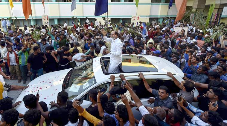 Rajinikanth entered politics because of the vacuum left by the Jayalalithaa, Karunanidhi