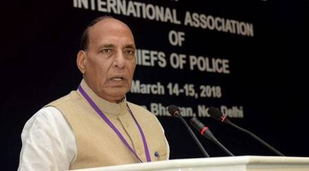 Kashmir is ours, won't mind crossing border to protect it: Rajnath Singh