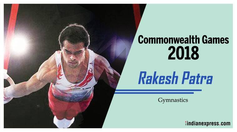 Rakesh Patra will compete in the Artistic Gymnastics event.