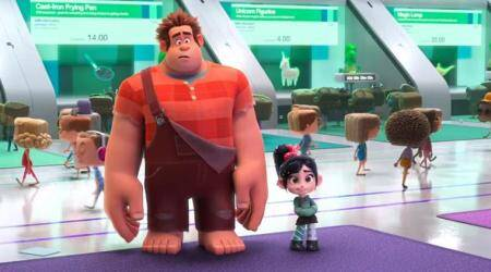Ralph Breaks the Internet Wreck-It Ralph 2 trailer: Ralph travels to the world of Internet leaving his arcadelife