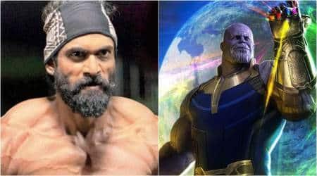 rana daggubati to dub for thanos in avengers infinity war telugu version