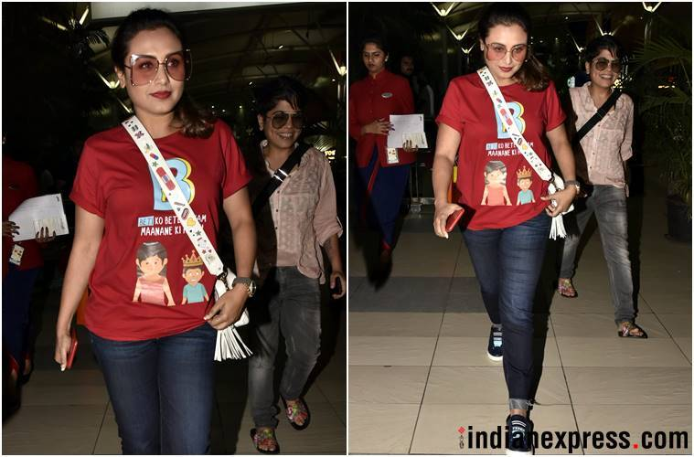 airport fashion, airport style, deepika padukone, disha patani, yami gautam, rani mukerji, Bipasha basu, daisy shah, kajal agarwal, celeb fashion, bollywood fashion, bollywood airport style, indian express, indian express news