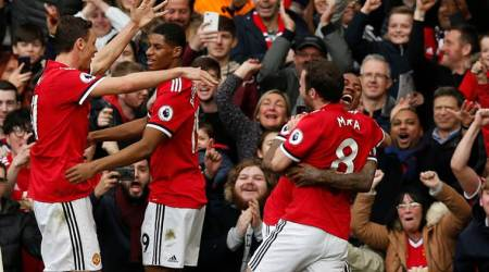 Marcus Rashford double helps Manchester United beat Liverpool2-1