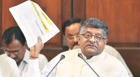 Ravi Shankar Prasad, IT officials brainstorm over commercial misuse of data