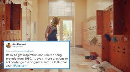 Guess what? The new iPhone ad has RD Burman's sound track from 'The BurningTrain'
