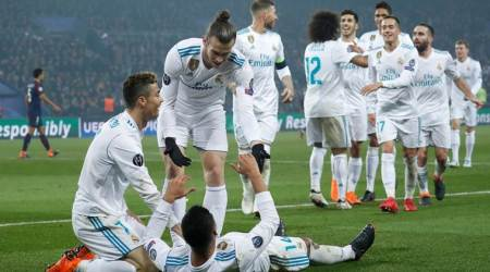 PSG vs Real Madrid, Champions League highlights: Real Madrid beat PSG 2-1 to book quarterfinalsspot