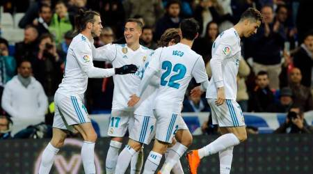 La Liga Roundup: Barcelona race towards title after Atletico Madrid defeat, Cristiano Ronaldo scores four