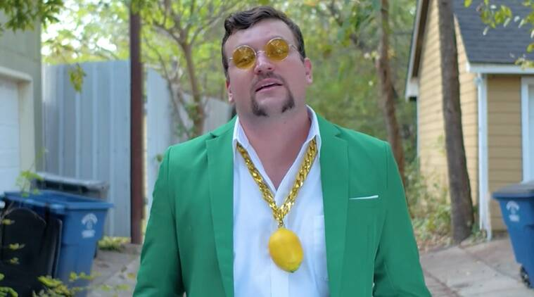 cover letter for sprite, cover letter rap, chase zreet cover letter, cover letter rapper, man raps cover letter to work with sprite, Indian Express, Indian Express news