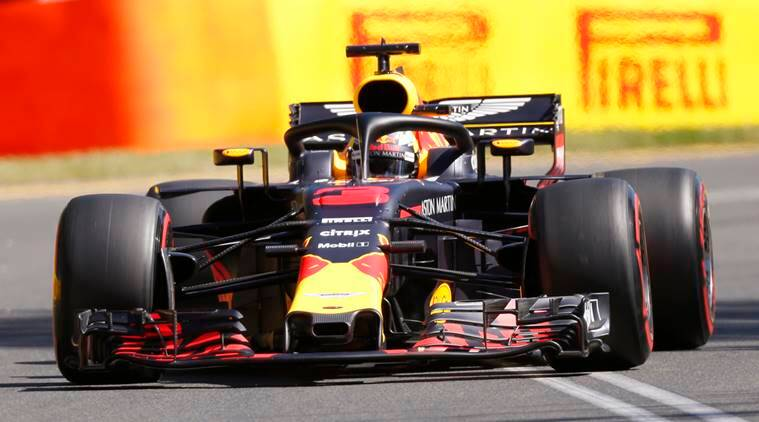 Daniel Ricciardo in his Red Bull at Australian Grand Prix