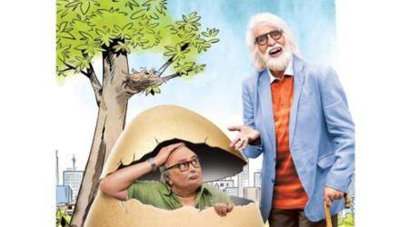 102 Not Out's first look featuring Amitabh Bachchan and Rishi Kapoor is quirky at its best