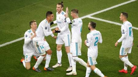 Champions League: Cristiano Ronaldo helps Real Madrid to PSG win and quarter-finalsspot
