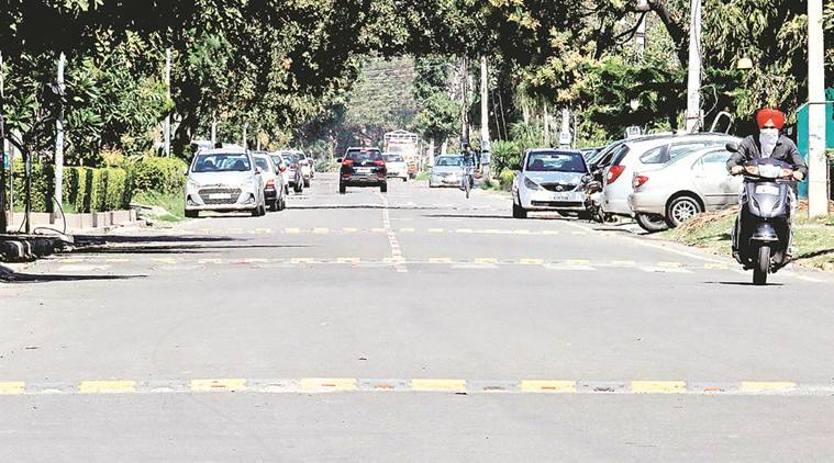 Too many rumble strips in Panchkula sectors, angry residents ask why