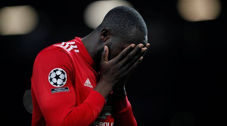 Manchester United lost to Sevilla 2-1 at the Champions League.