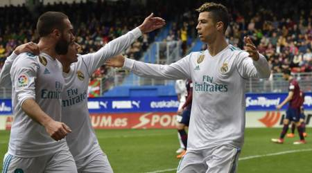 Irrepressible Cristiano Ronaldo strikes twice as Real Madrid beat Eibar 2-1