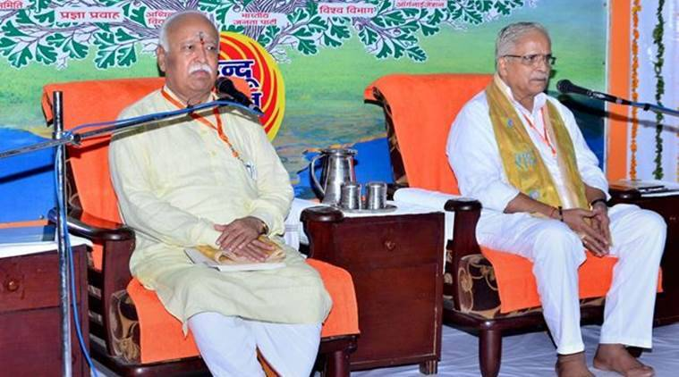 RSS chief executive's election