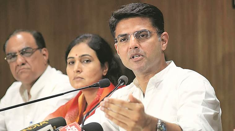 """""""Though the government knew about a central government ordinance of 2015 that made auction compulsory for allotment of mines, the Rajasthan government allotted 663 mines a few days before the ordinance was issued,"""" Sachin Pilot, Rajasthan Congress chief, said."""