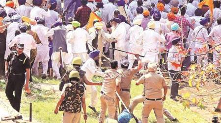 Chandigarh: Police use canes, water cannons to disperse SAD march, ally BJP's Sampla injured