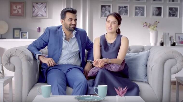 Sagarika Ghatge and Zaheer Khan decode their love story in this video
