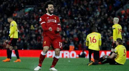 Mohamed Salah giving Liverpool confidence like Luis Suarez did, says Jordan Henderson