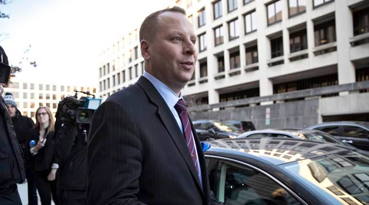 Ex-Trump aide emerges from grand jury
