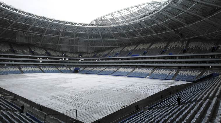 Construction at World Cup stadium in Samara still behind schedule, says FIFA