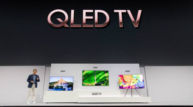 Samsung launches 2018 QLED 4K TVs with Bixby enabled