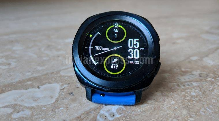 Samsung, Samsung Gear Sport, Gear Sport review, Samsung Gear Sport specifications, Gear Sport features, Gear Sport price in India