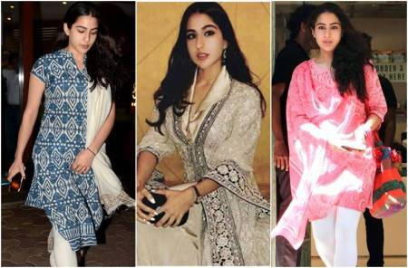 5 times Sara Ali Khan amazed us with her simple yet classy salwar suits