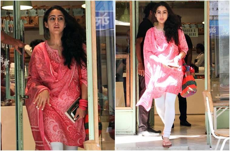 Sara Ali Khan Amps Her Glam in Simple Ethnic Wear And we