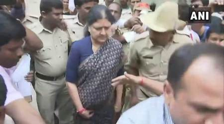 VK Sasikala granted 15-day parole to attend husband's funeral