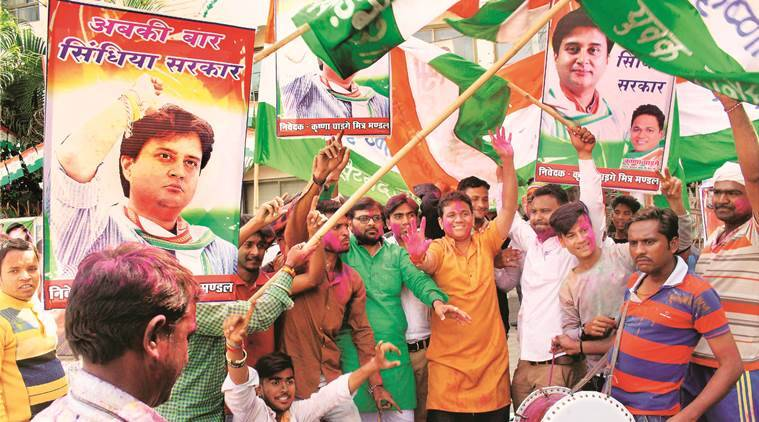 Madhya Pradesh By-Poll Results 2018: Congress Leads Mungaoli and Kolaras