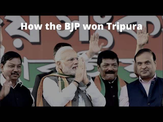 How BJP's meticulous planning showed results in Tripura