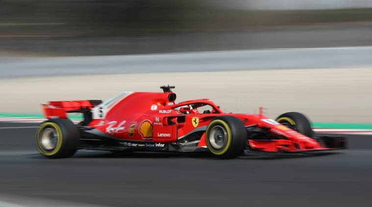 Vettel smashes day-old track record in Spain