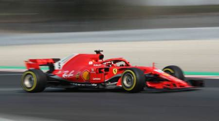 Sebastian Vettel lowers Daniel Ricciardo's unofficial record at F1testing