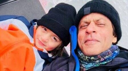 Shah Rukh Khan is on a 'little holiday' with son AbRam