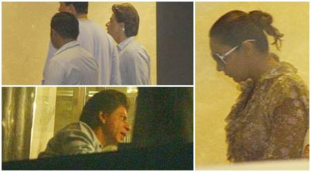 Photos: Shah Rukh Khan takes wife Gauri Khan out on a dinner date