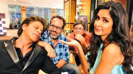 Shah Rukh Khan caught sleeping on the sets of Zero, see photo
