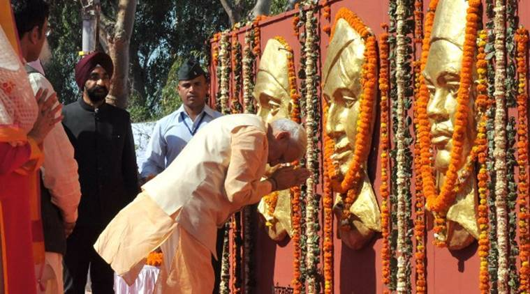 Prime Minister Modi pays tributes on martyrs' day