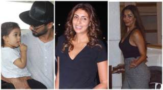 Celeb spotting: Shahid Kapoor and family at the airport to Shweta Bachchan, Malaika Arora's day out