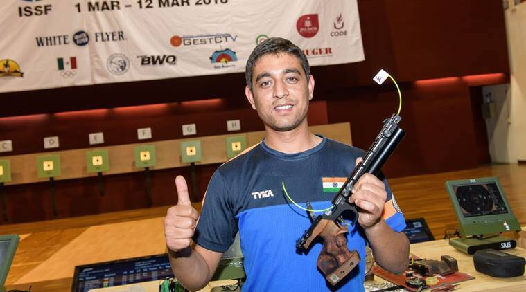 Shooter Shahzar Rizvi sets world record, wins WC gold