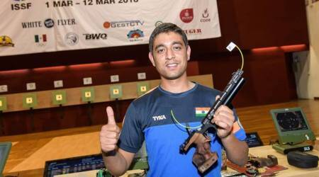 Shahzar Rizvi claims No.1 spot in ISSF 10m Air Pistol Rankings