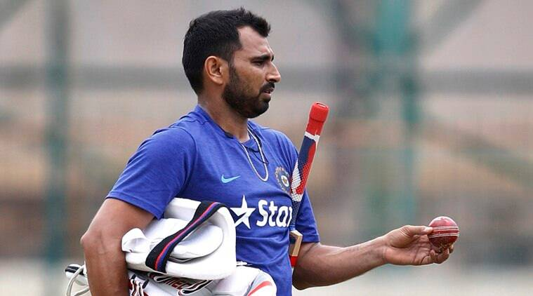 Mohammed Shami, Mohammed Shami bowling, Mohammed Shami contarct, Mohammed Shami BCCI contract, Mohammed Shami wife, Mohammed Shami India, sports news, cricket, Indian Express