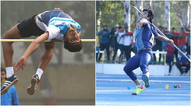 Tejaswin Shankar and Neeraj Chopra
