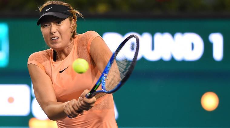 Maria Sharapova's comeback takes another turn for the worse
